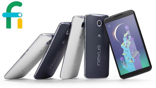 Project Fi, que sur Google Nexus 6 pour le moment !