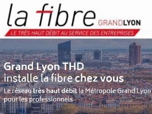 Grand Lyon THD par Covage, la fibre pour les entreprises, administrations et professionnels