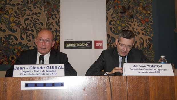 Jean-Claude Guibal et Jérôme Yomtov