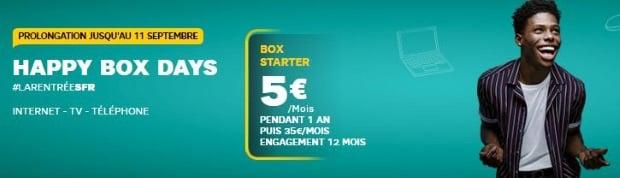 Box Internet SFR en promo