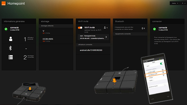 Homepoint Orange, une interface Web très conviviale