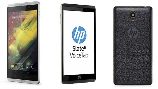 HP Slate 6 VoiceTab une phablette d'entrée de gammme