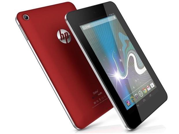 La HP Slate 7 VoiceTab propose un écran de 7 pouces avec une résolution à peine meilleure