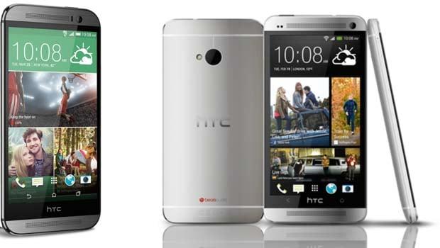HTC One M8 : plusieurs coloris métalliques