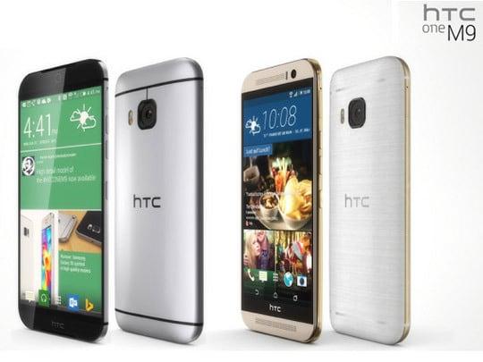 HTC One M9 : des lignes superbes et une coque monobloc en aluminium