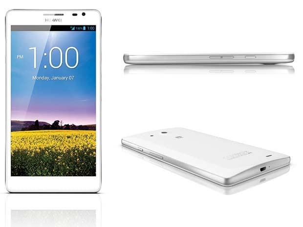 Huawei Ascend Mate, en noir ou en blanc