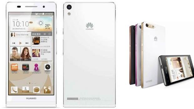 Huawei Ascend P7 : moins de 6,5 mm d'épaisseur