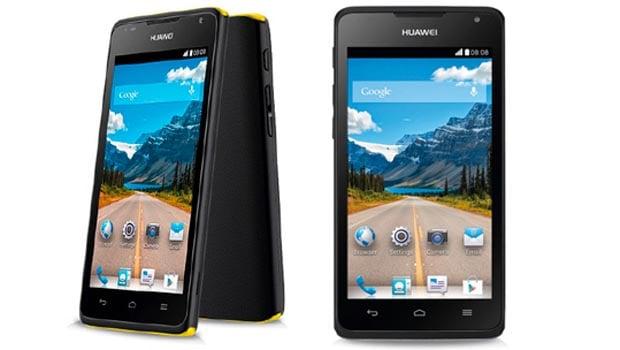 Huawei Y530, noir/jaune