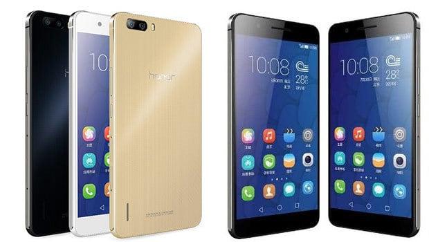 MWC 2015 Huawei : Honor 6+, un photophone avec 3 capteurs 8 mégapixels