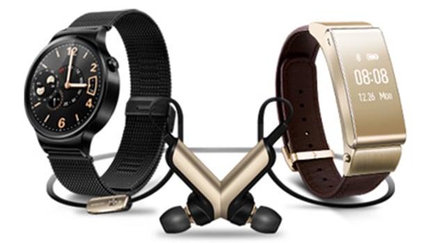 MWC 2015 Huawei : TalkBand B2, Watch, oreillettes...