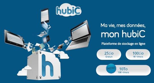 Les nouvelles offres de Cloud d'Hubic