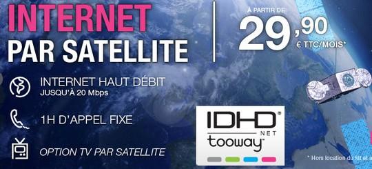 IDHD Tooway à partir de 34.89€ (kit inclus)