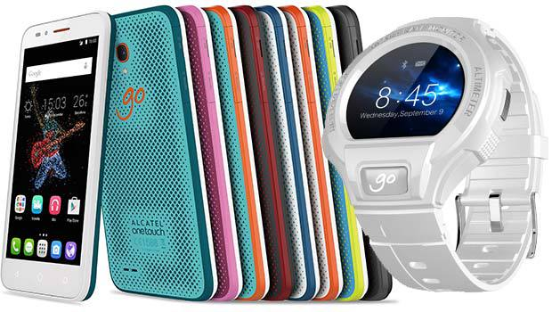 Alcatel GO PLAY et WATCH