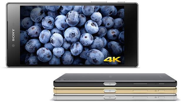 Sony Xperia Z5 Premium : un smartphone 4K