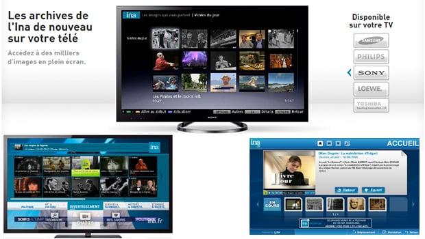 INA, la mémoire audiovisuelle de la télévision fraçaise