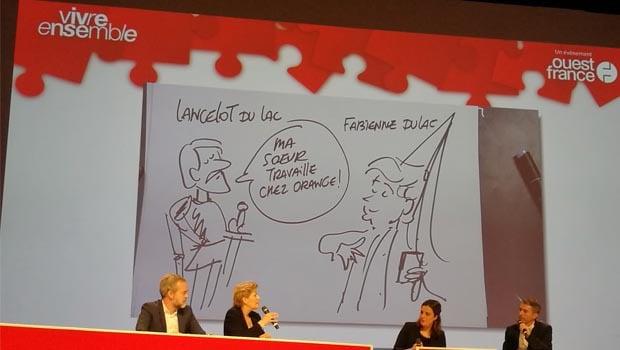 Orange et Google, en binôme pour parler couverture et éducation numérique à Rennes
