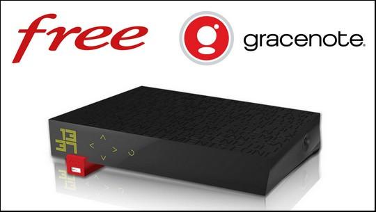 Le service de reconnaissance musicale de Gracenote est inclus dans la Freebox