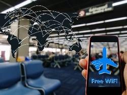 Le WiFi gratuit dans les aéroports