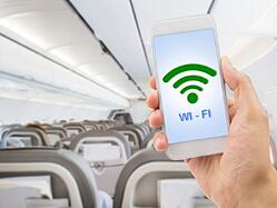 Internet dans l'avion