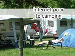 Internet en camping car ou sur un site