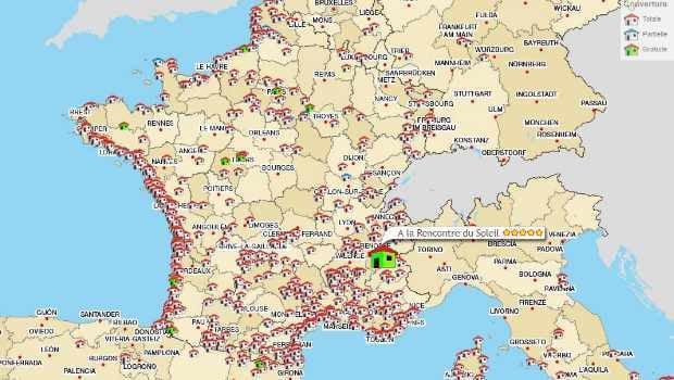 Le site Wificamping permet de voir rapidement quels campings proposent du WiFi
