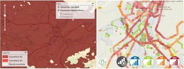 Cartes de couverture : Internet mobile SFR