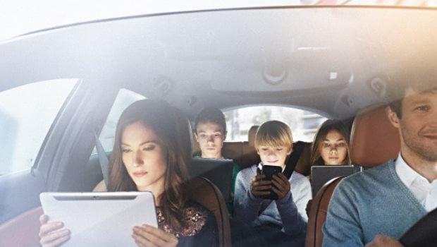 La 4G en voiture pour tous les passagers