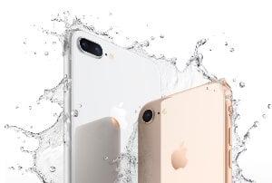 iPhone 8 : étanche et résistant aux poussières