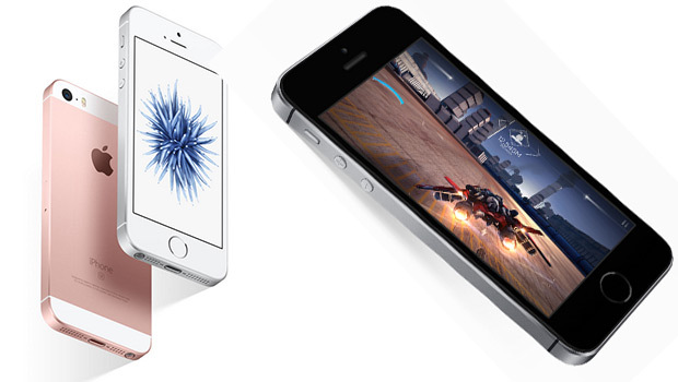 Apple iPhone SE, mélange d'iPhone 5s et de 6s