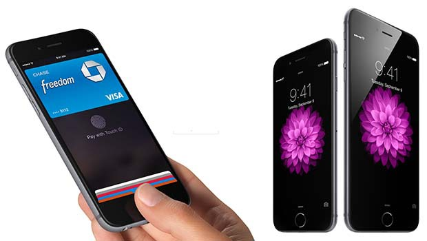 iPhone 6 : paiement sans-fil sécurisé Apple Pay