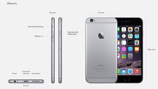 iPhone 6 : plus fin, plus ergonomique, plus stylé