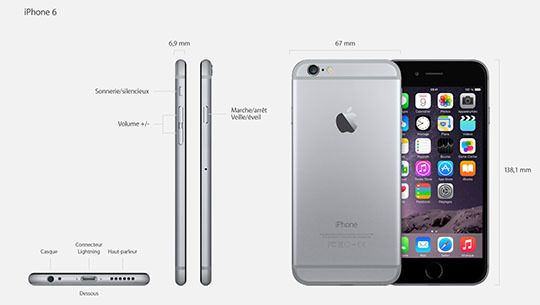 iPhone 6 : plus fin, plus ergonomique, plus stylé