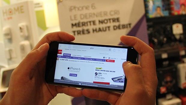 iPhone 6 : un écran Retina toujours aussi performant
