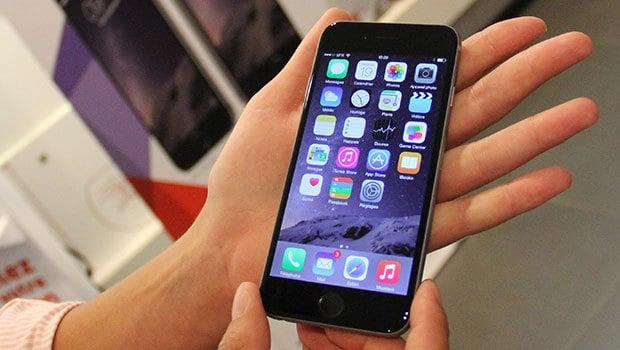 iPhone 6 et iOS8