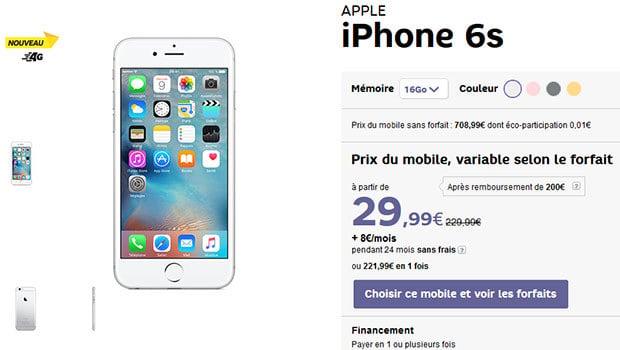 Des prix plus intéressants chez les opérateurs que chez Apple