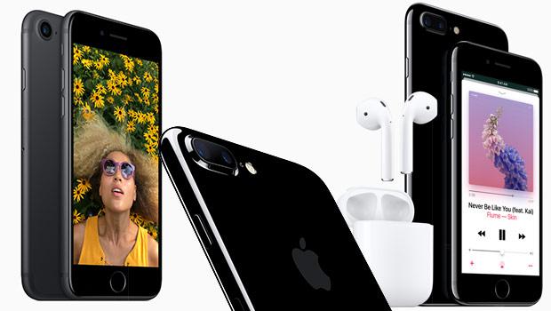 Les iPhone 7, avec les Airpods, oreillettes sans fils