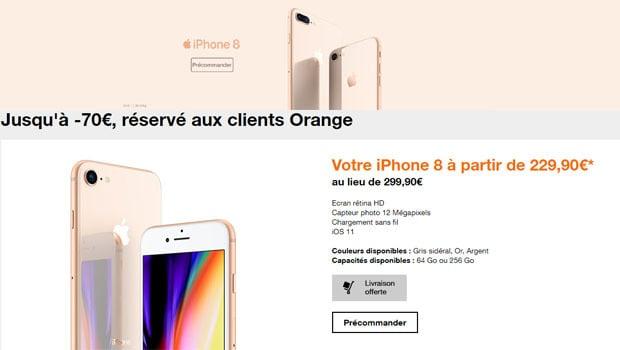 Pour les clients Orange mobile, le moins cher à l'achat
