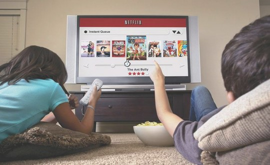 TV sur IP Netflix