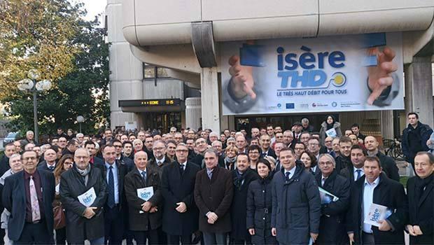 Officialisation d'Isère THD avec SFR Collectivités comme délégataire