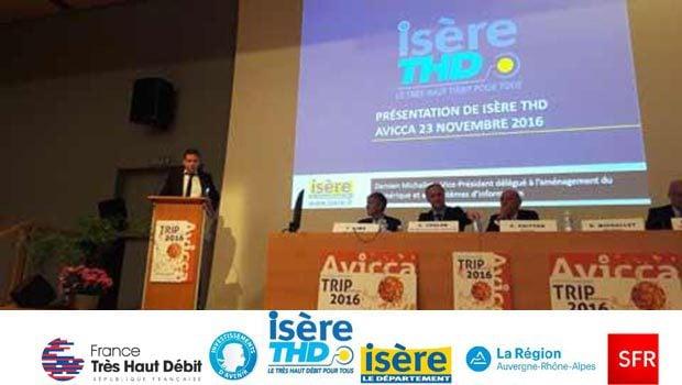 SFR va investir près de 260 millions d'euros sur l'Isère !