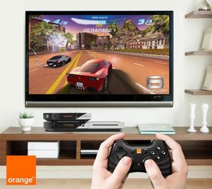 Jeux vidéos sur la Livebox Play d'Orange