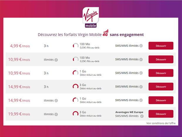 Joe Mobile bascule vers Virgin Mobile