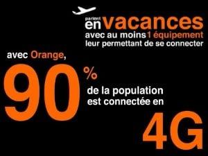 La 4G d'Orange couvre 90% des français
