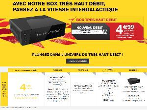 La Poste Mobile : Abonnement Internet Box TV Plus en promo