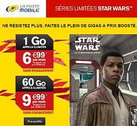 La Poste Mobile Star Wars