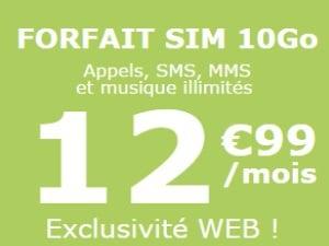 La Poste Mobile 10Go à 12,99€/mois