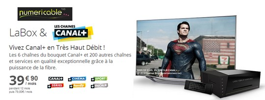 Pack LaBox Canal+