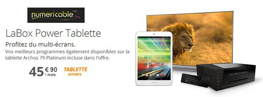 LaBox Power Tablette