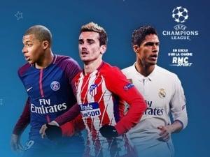 Champions League sur RMC Sport