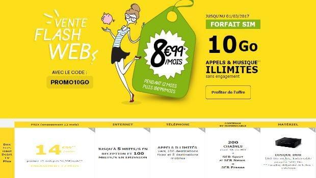 Promotions La Poste Mobile